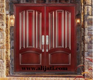 Pintu Rumah Keren Kayu Jati Perhutani