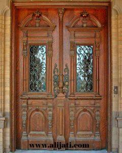 Pintu Rumah Klasik Kayu Jati Asli