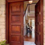 pintu rumah mewah kayu jati minimalis klasik