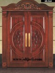Pintu Rumah Mewah Ukir Kayu Jati