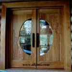 Pintu Rumah Minimalis Kaca Cermin Terbaru
