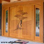 Pintu Rumah Minimalis Motif Pohon