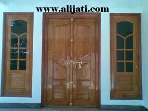 Spesifikasi Pintu Rumah Model Antik Kayu Jati