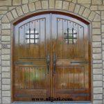 pintu rumah model belanda kayu jati
