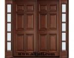 Pintu Rumah Modern Kayu Jati Klasik