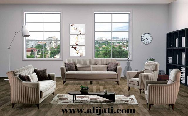 sofa kayu jati minimalis model baru