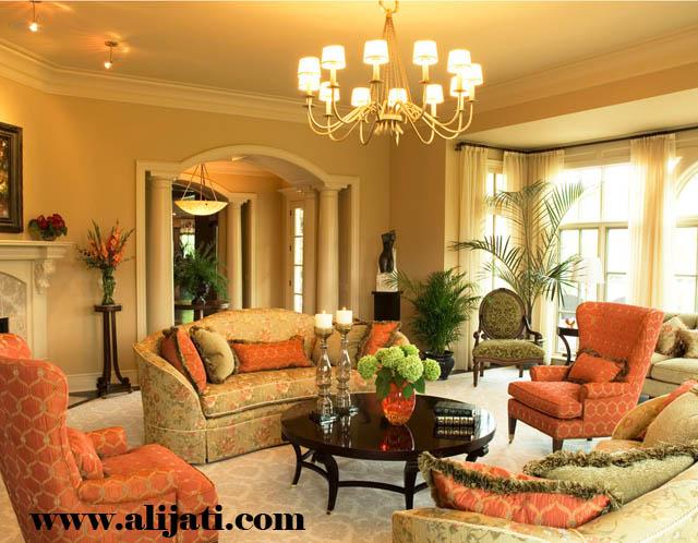 sofa mewah desain minimalis kayu jati