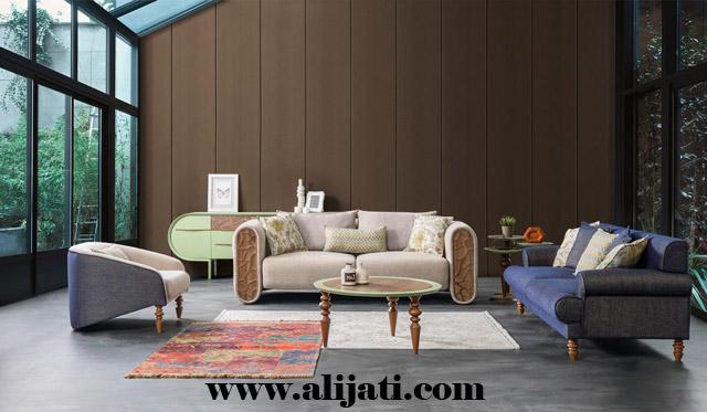 sofa mewah model klasik asli jepara kayu jati