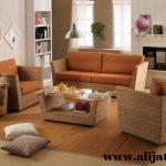 sofa minimalis khas jepara model baru kayu jati