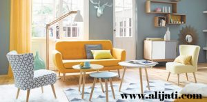 Sofa Modern Desain Minimalis Kayu Jati