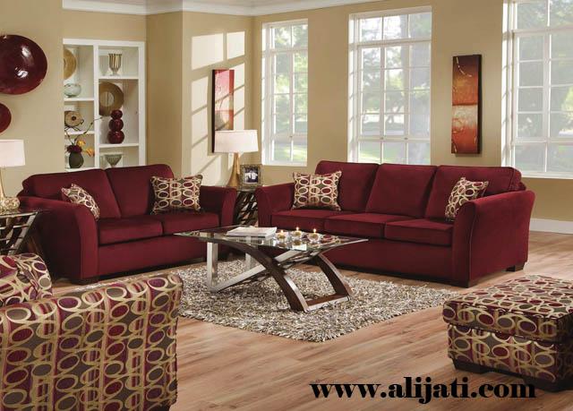 sofa modern minimalis kayu jati perhutani