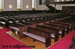 Bangku Gereja Desain Mewah Terbaru Jati Jepara
