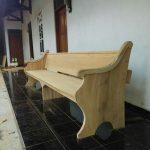 bangku gereja desain minimalis model terbaru