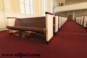 Bangku Gereja Minimalis Cat Duco Terbaru