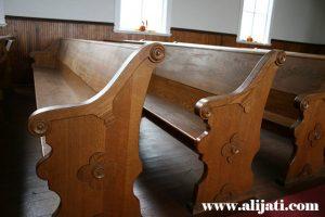Bangku Gereja Model Klasik Kayu Jati Terbaru