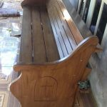 bangku gereja model terbaru minimalis kayu jati