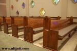Bangku Gereja Modern Kayu Jati Asli