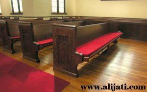 Bangku Gereja Motif Terbaru Kayu Jati
