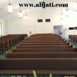 bangku gereja panjang kayu jati minimalis