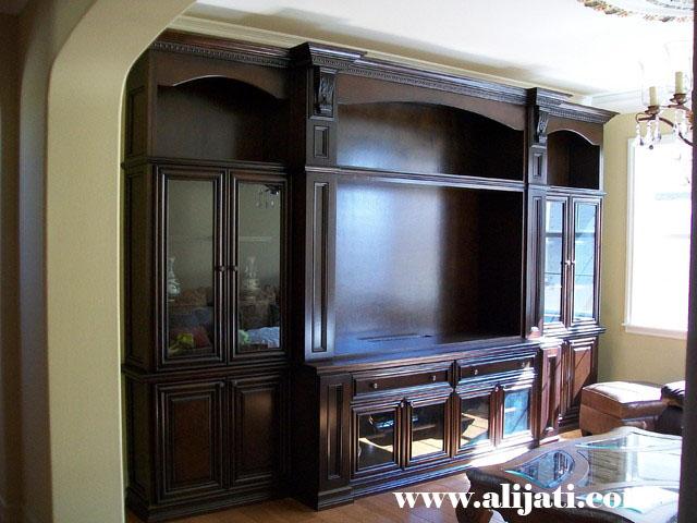 bufet tv desain khas jepara terbaru kayu jati