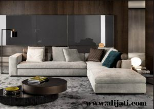 Sofa Sudut Desain Minimalis Terbaru